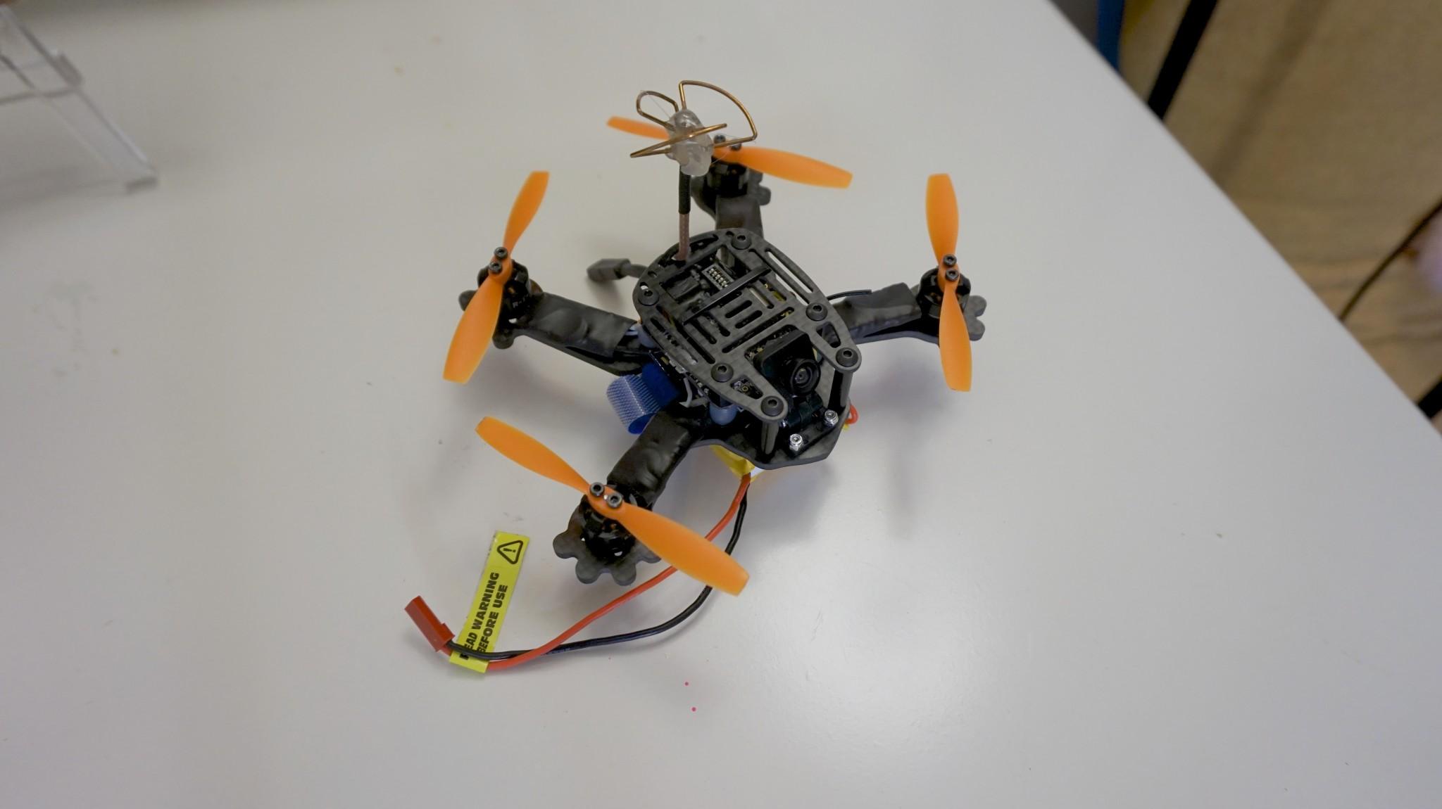 Frog – Micro Racing Quadcopter Frame – Flex RC