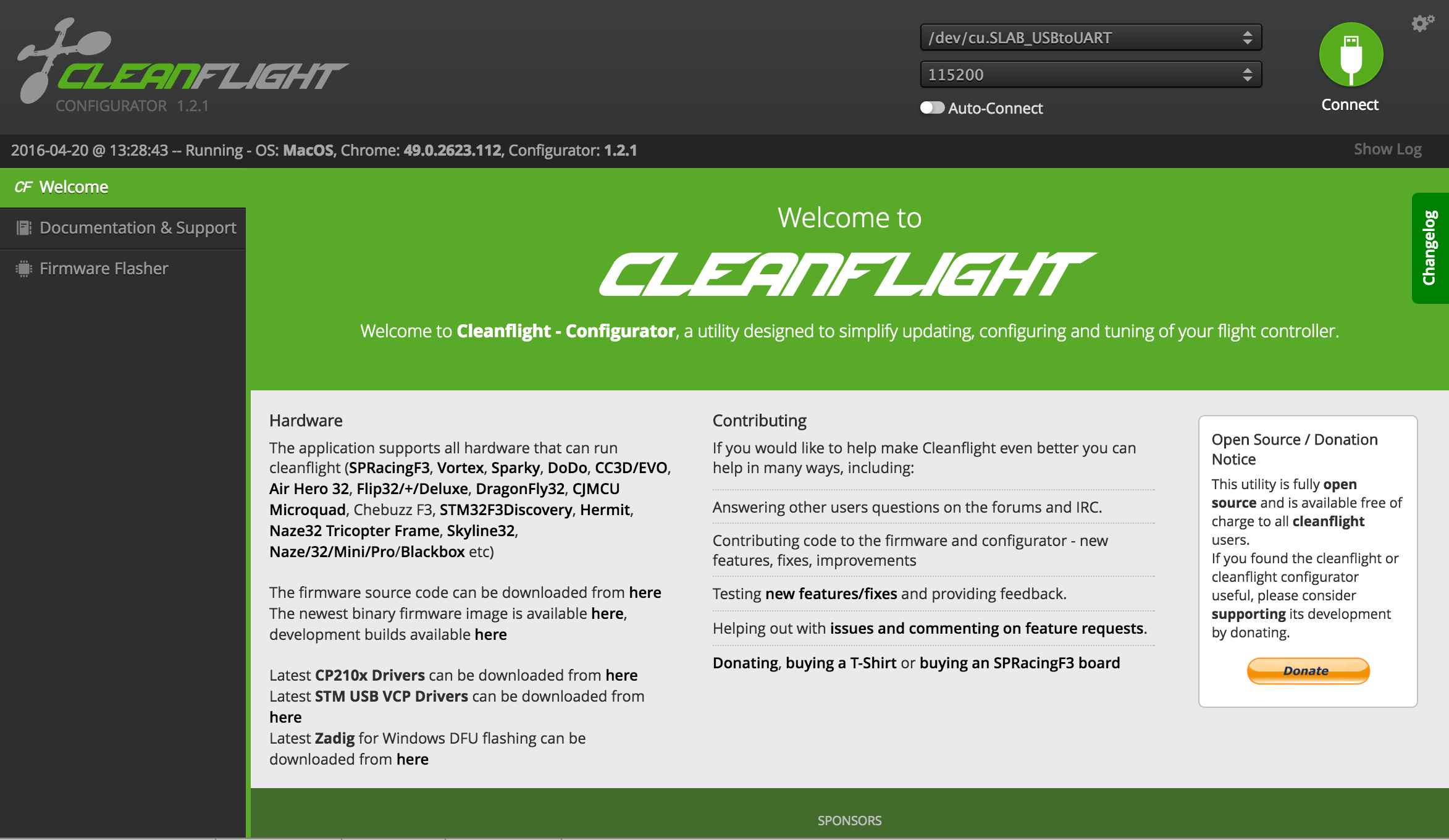 How to configure Cleanflight and bind DSMX satellite