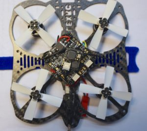 Mount flight controller and mount VTX with zip ties
