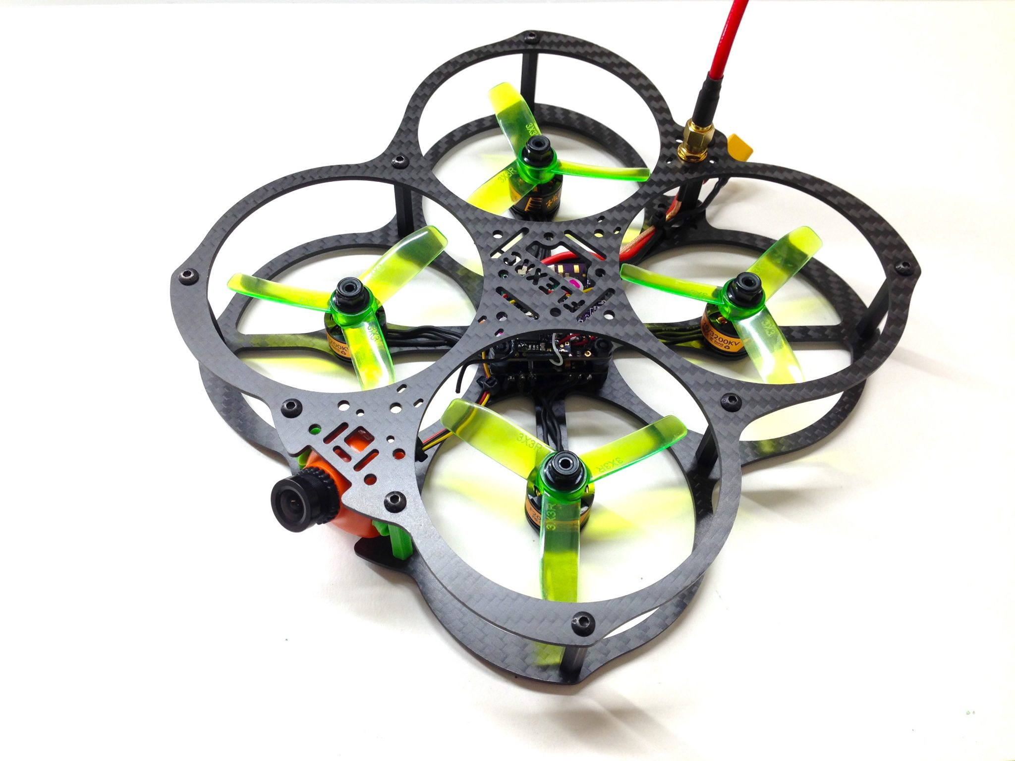 Owl - Universal Indoor and Outdoor FPV Quadcopter frame kit