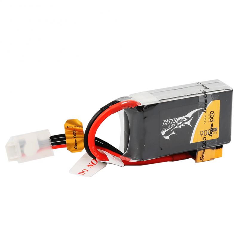 Tattu 900mAh 11.1V 45C 3S1P Lipo Battery Pack