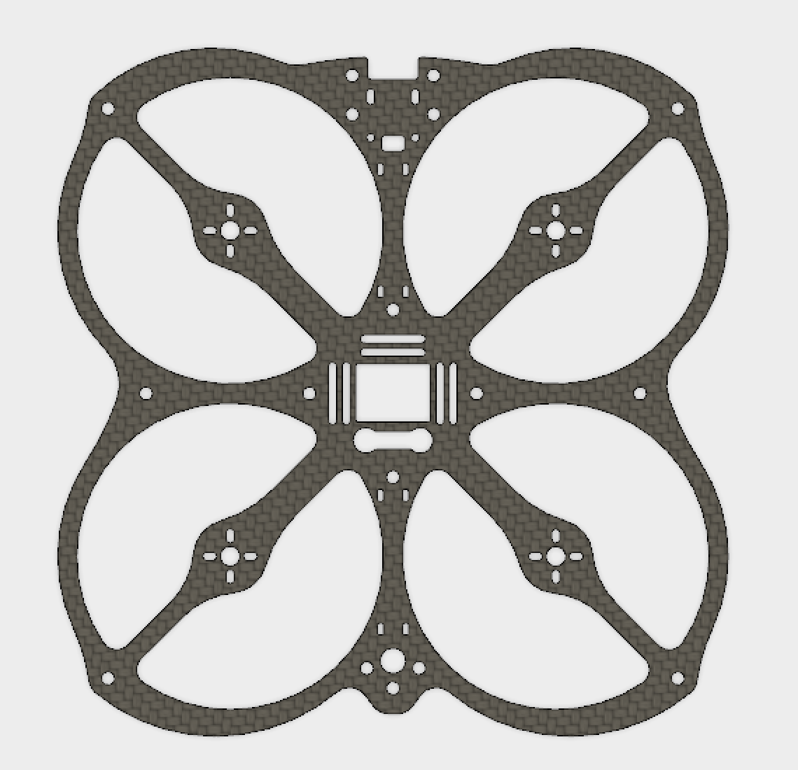 Owl - Main Plate with Motor mounts