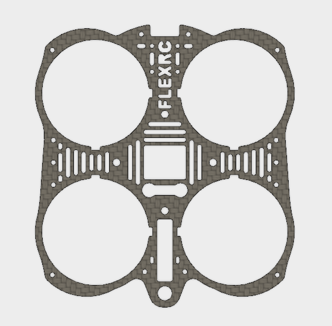 Mini Owl - Secondary Plate without Motor mounts