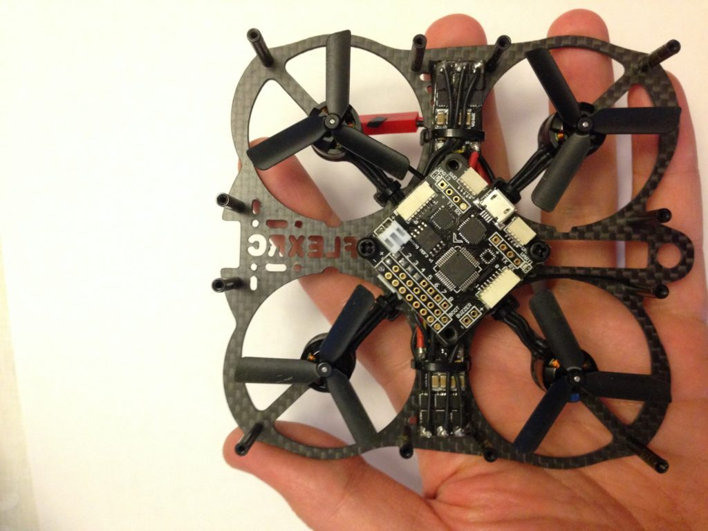 Mini Owl with ESCs on the sides