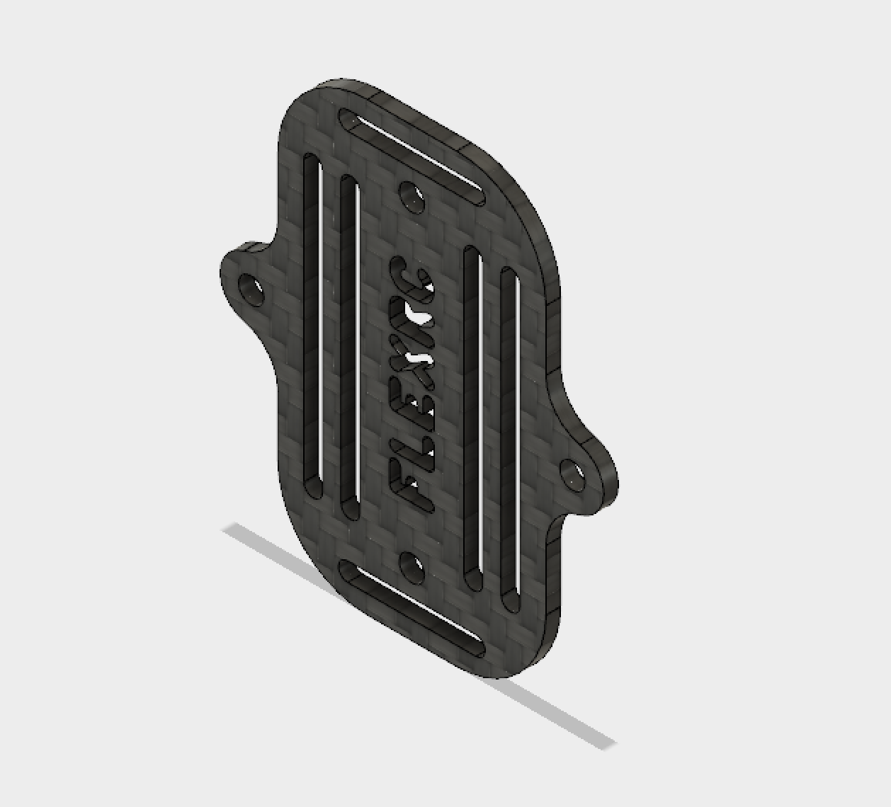Owl - Battery mounting / protecting plate
