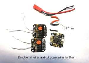 escs without wires next to wires