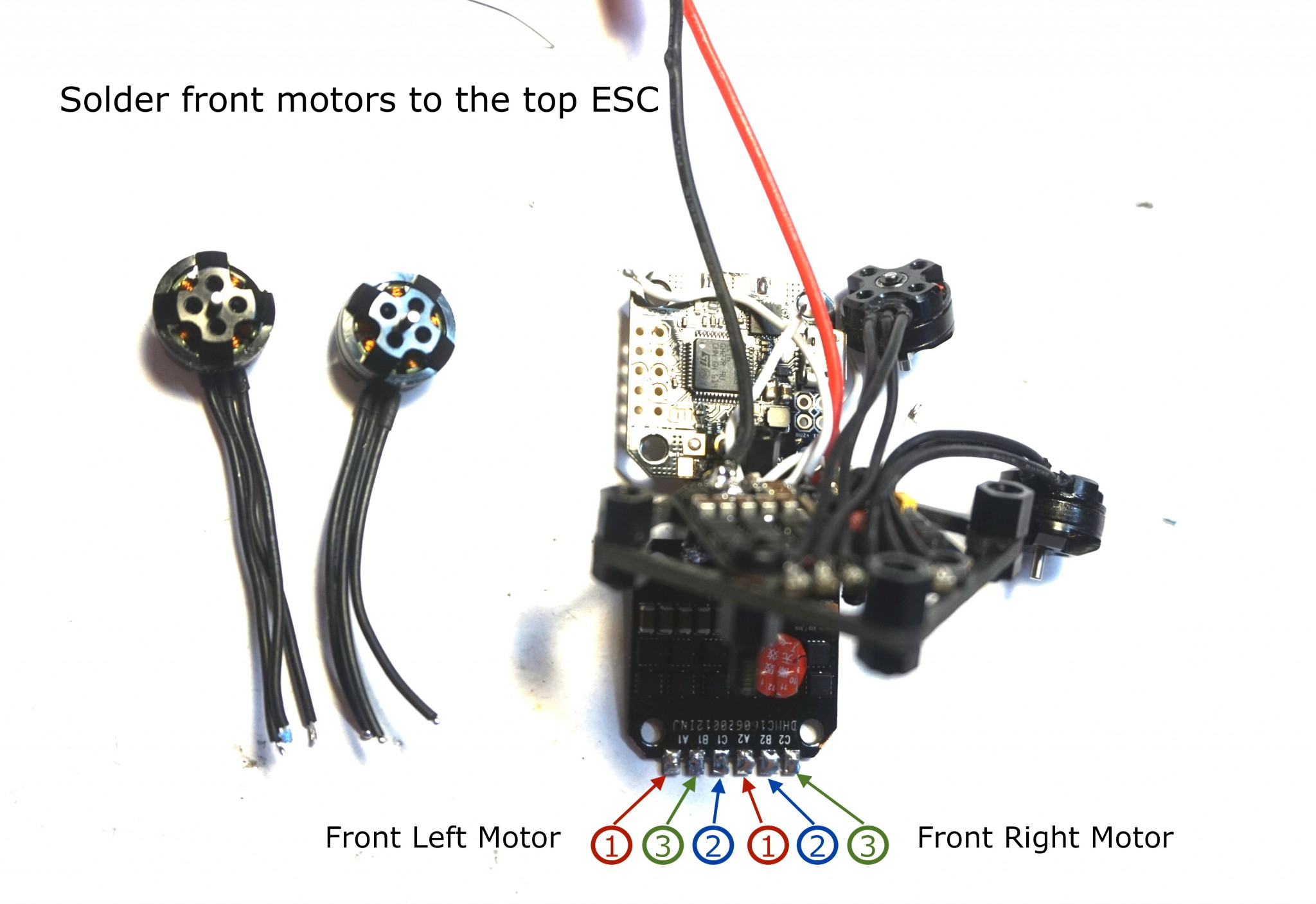 top-esc-motor-layout Quadcopter Wiring Diagram Cc D on