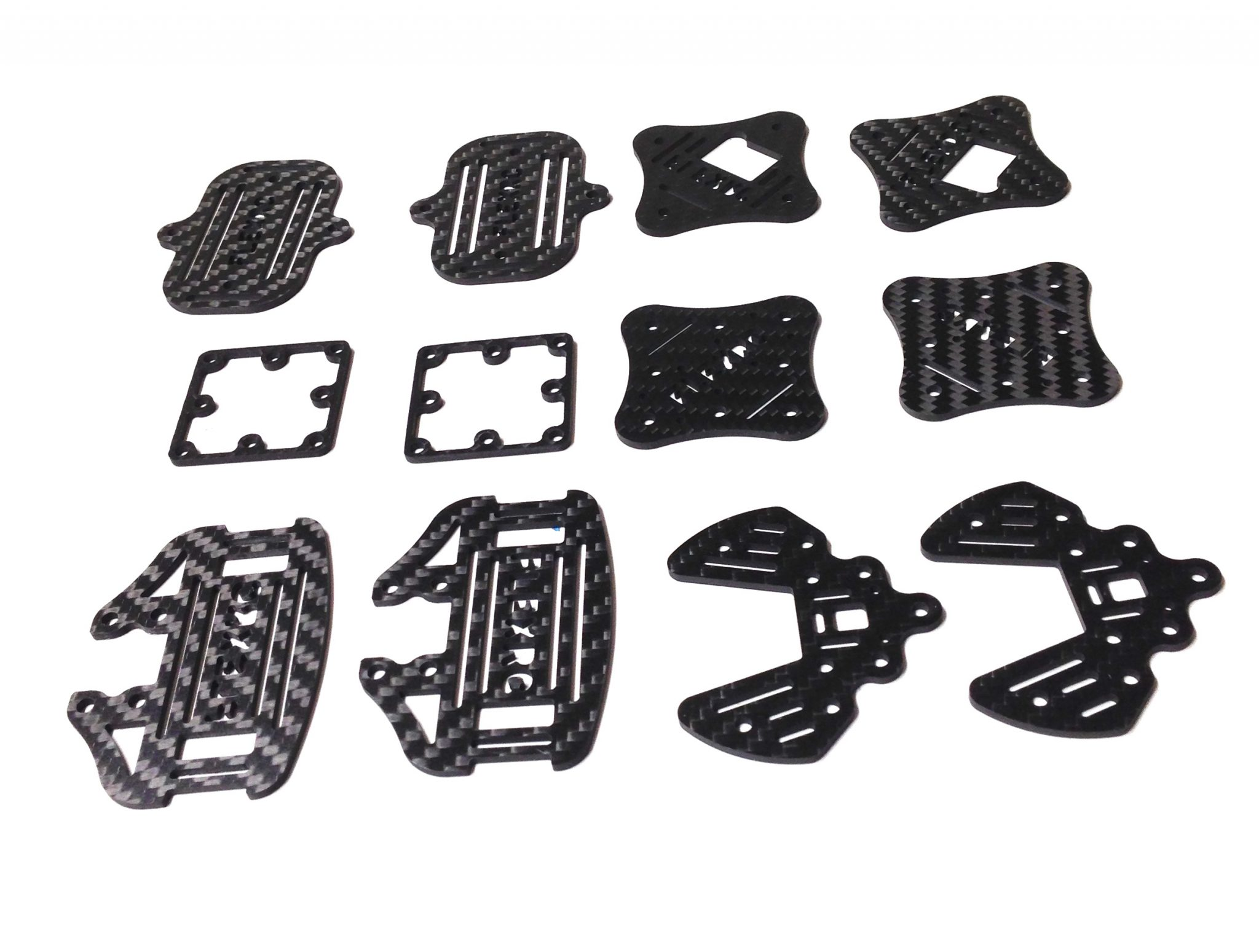 Owl - Extension plates kit