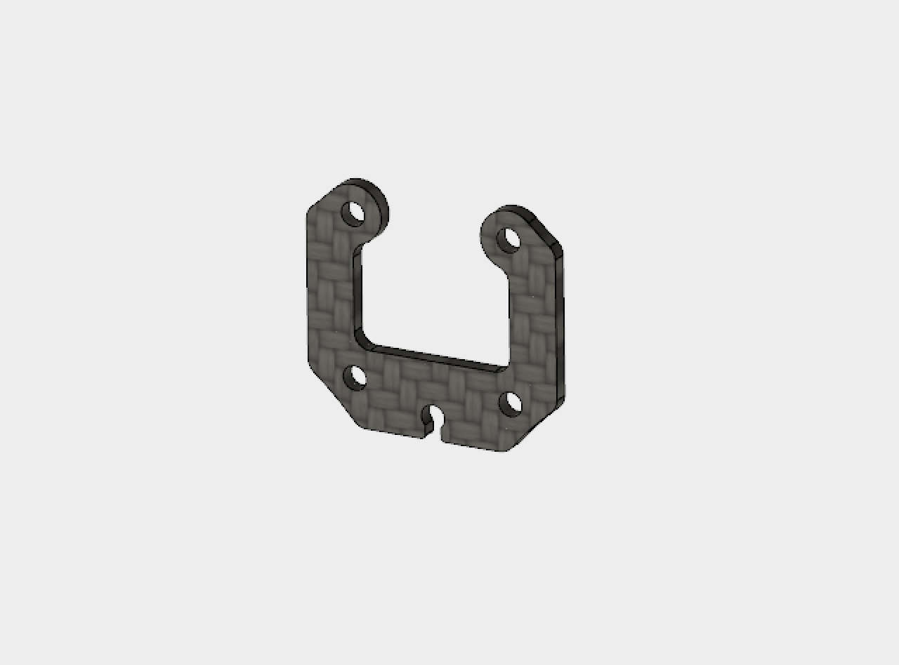 Pico X - Top camera protection plate