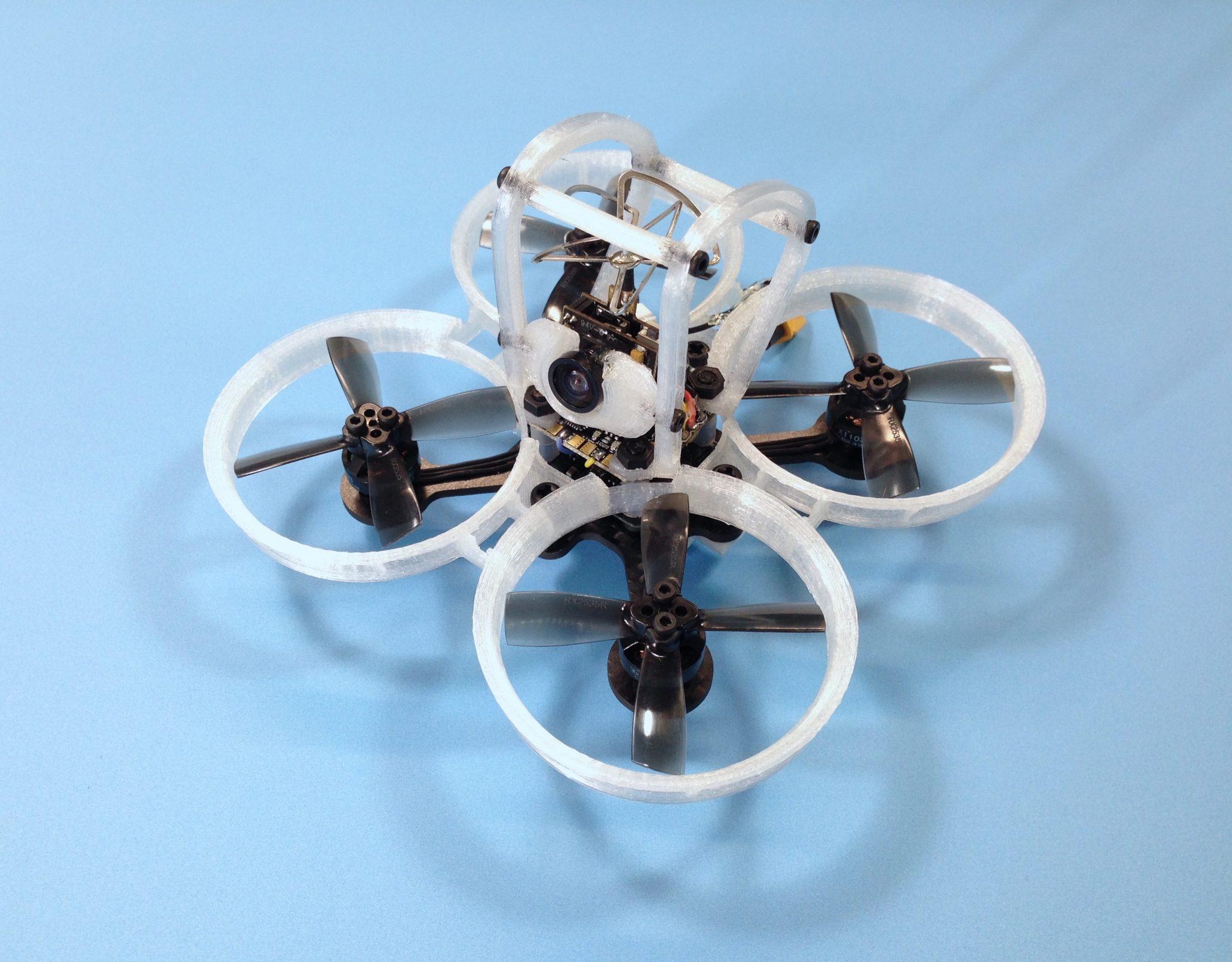 Pico Owl V2 - Safest Indoor Proximity FPV Racing Drone Frame