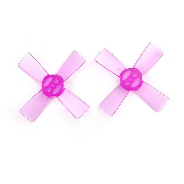 5 pairs of 1535 38mm (Purple) Propellers - 4 blade