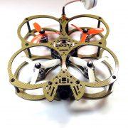 Owl FPV racing drone - golden eye 3