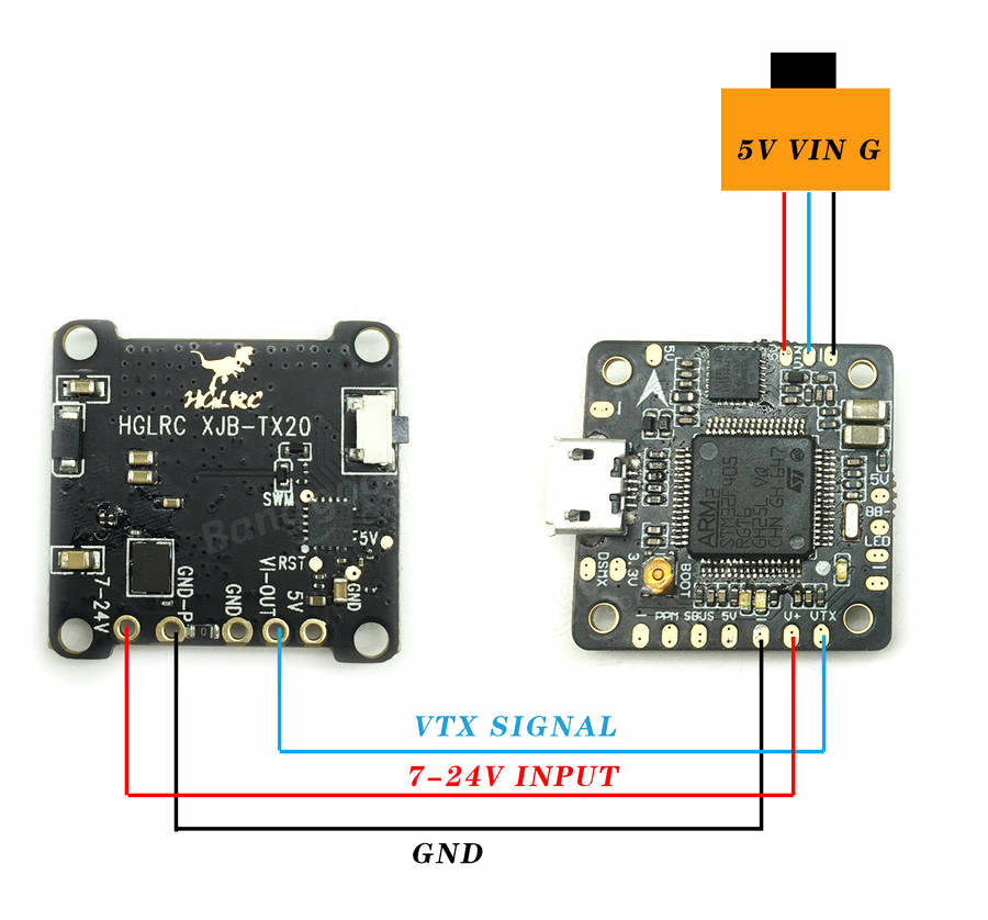 hglrc f4.v2 flight controller how to update firmware