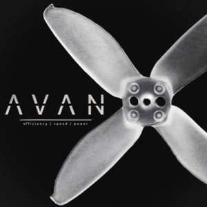 EMAX Avan Micro 2 inch (Clear White) - 4-Blade Propellers (6CW & 6CCW) 1