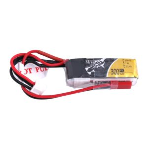 Tattu 300mAh 7.4V 45C 2S1P Lipo Battery Pack with JST-SYP plug
