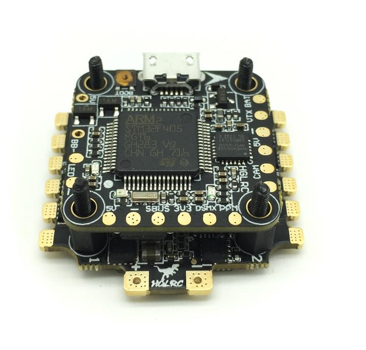 HGLRC XJB F428 F4 Flight Controller with 28A Blheli_S 4 In 1 ESC DSHOT 600
