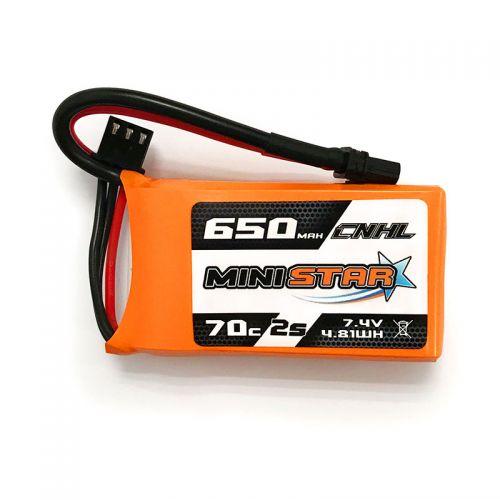 CNHL Ministar  650mah 7.4V 2S 70C Lipo Battery