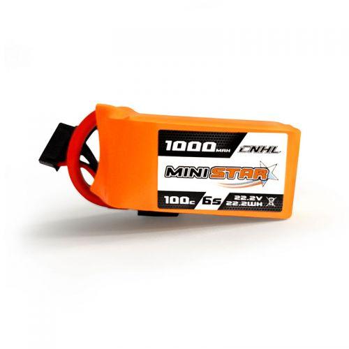 CNHL Ministar 1000mah 6S 22.2V 100C Lipo Battery