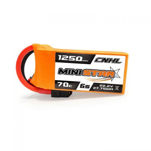 CNHL Ministar 1250mah 6S 22.2V 70C Lipo Battery