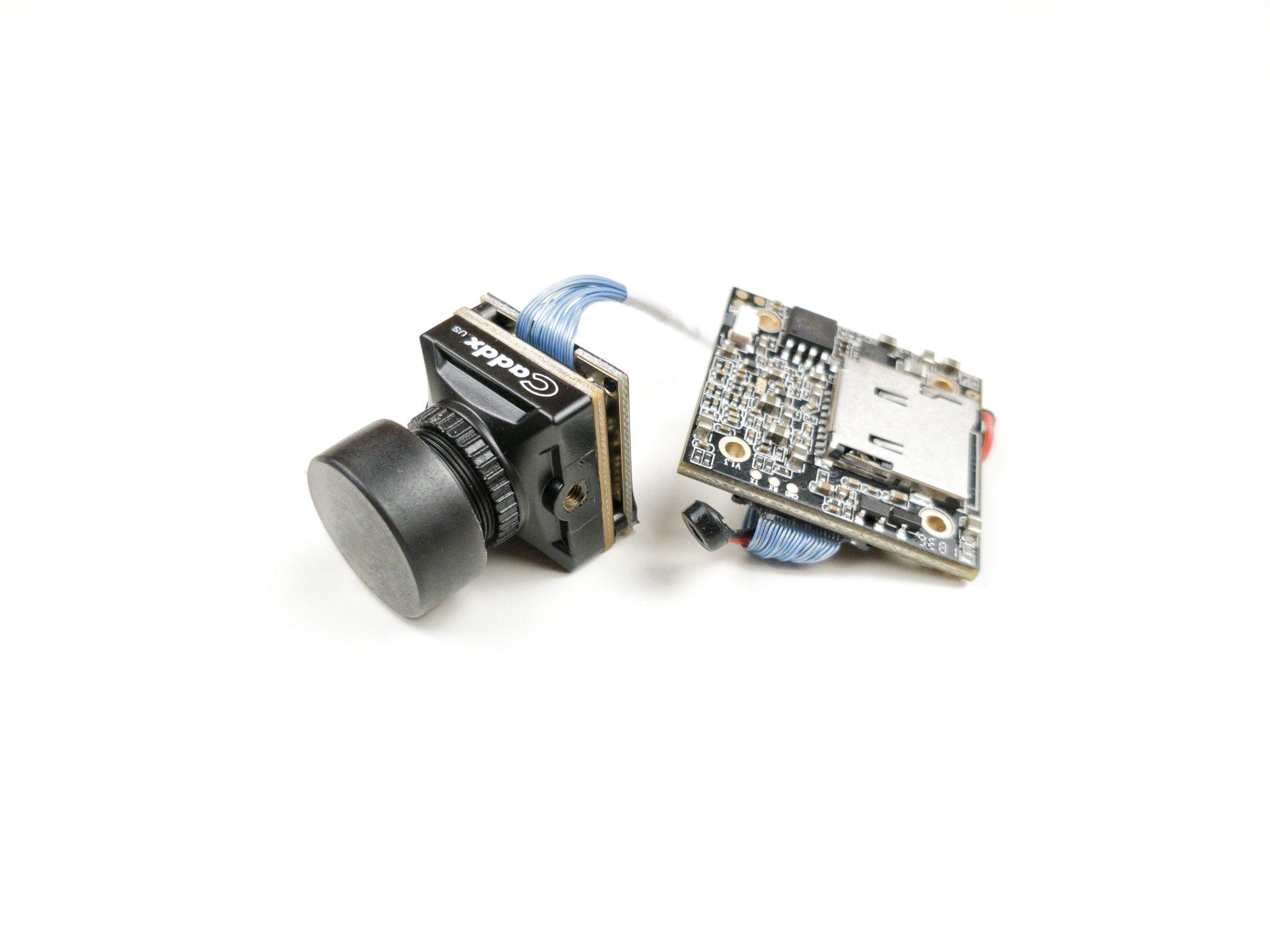 Caddx Turtle V2 1080p 60fps Mini HD FPV Camera w/DVR - Black