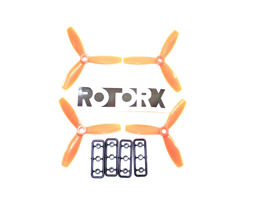 RotorX Triblade RX3040T Props (2CW, 2CCW) Polycarbonate