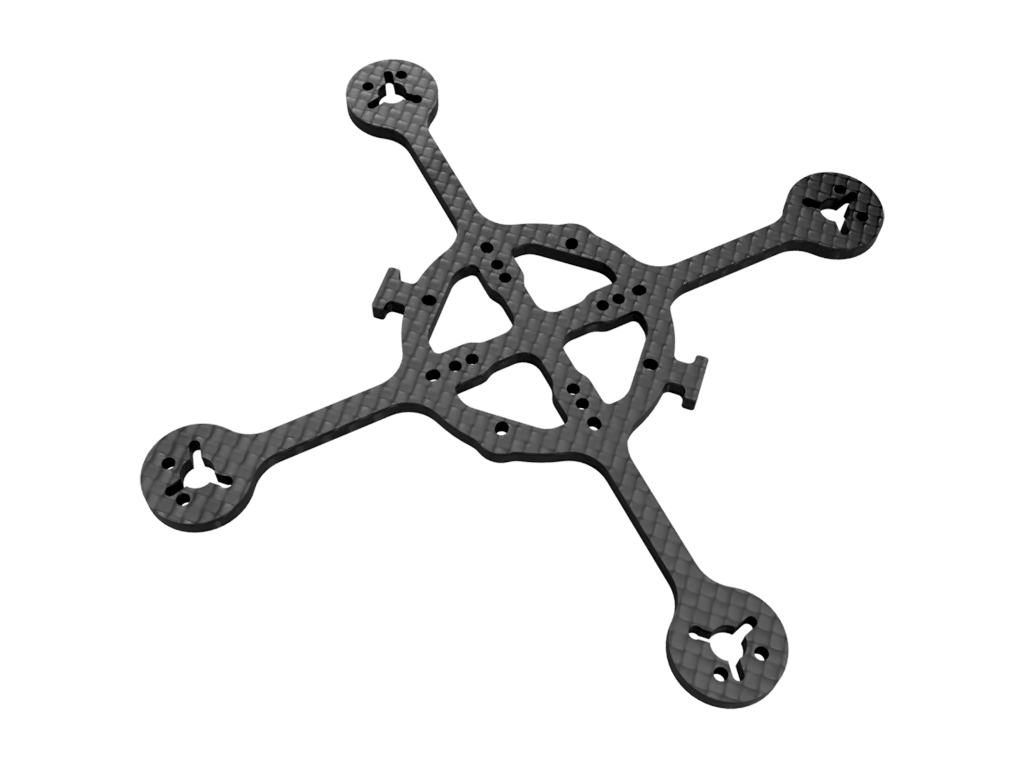 Simple X-110 FPV Drone Frame