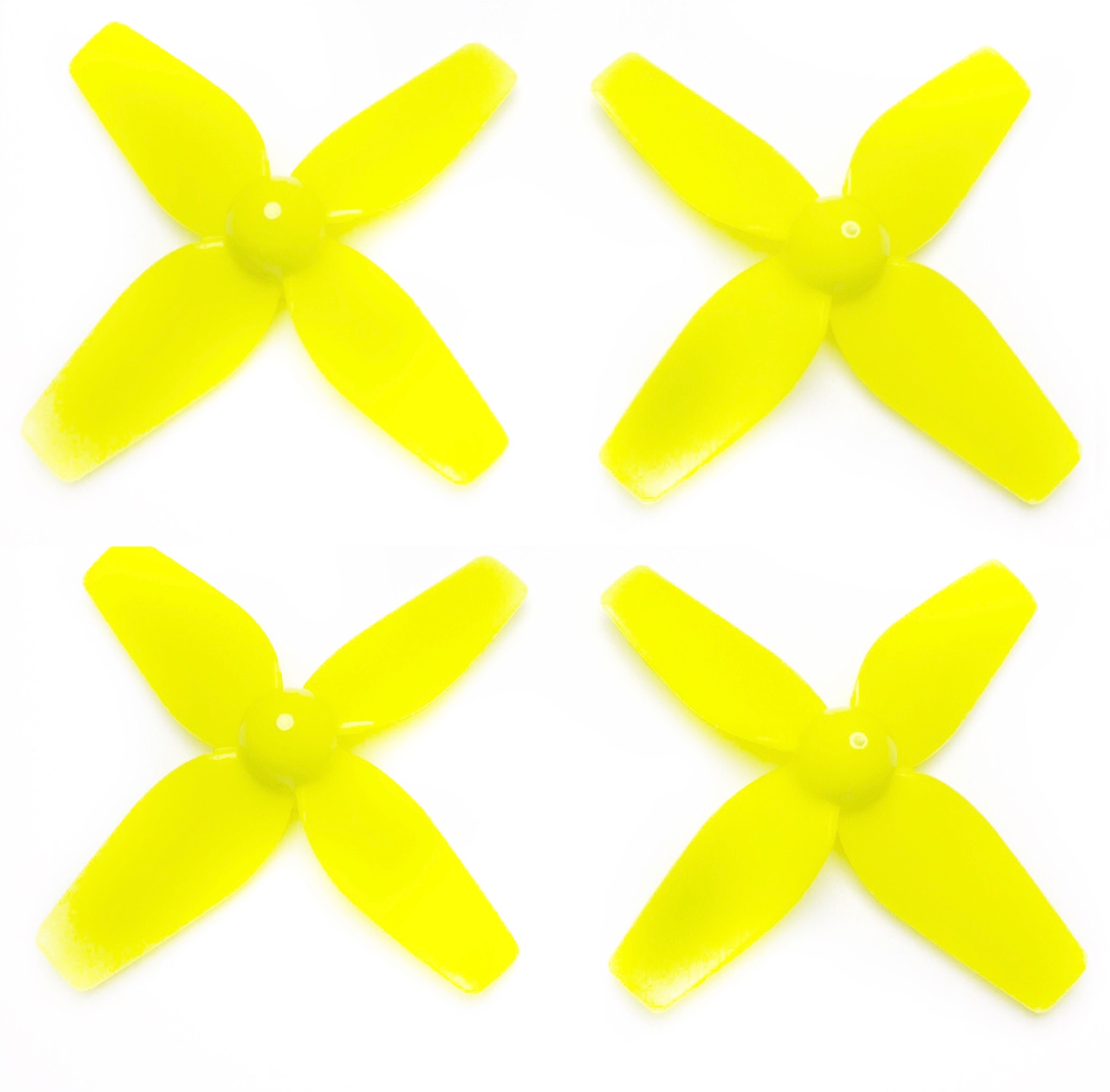 Eachine 41mm 4 Blades Propeller (2CW, 2CCW) Yellow