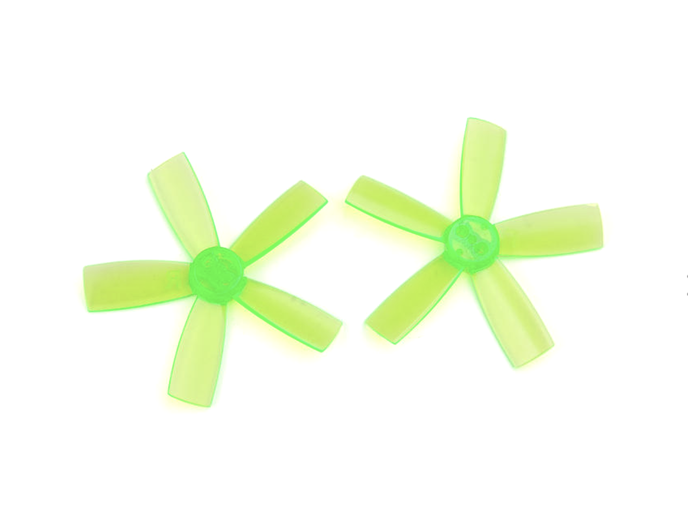 Racerstar 1935 Durable 5-Blade Propeller (10CW, 10CCW) - Green