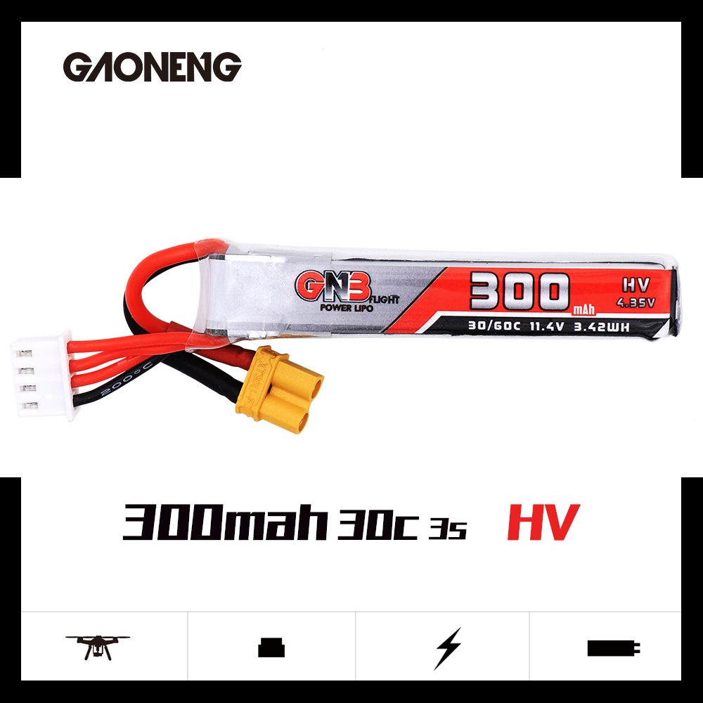 GNB 3S 300Mah HV 30C/60C Battery