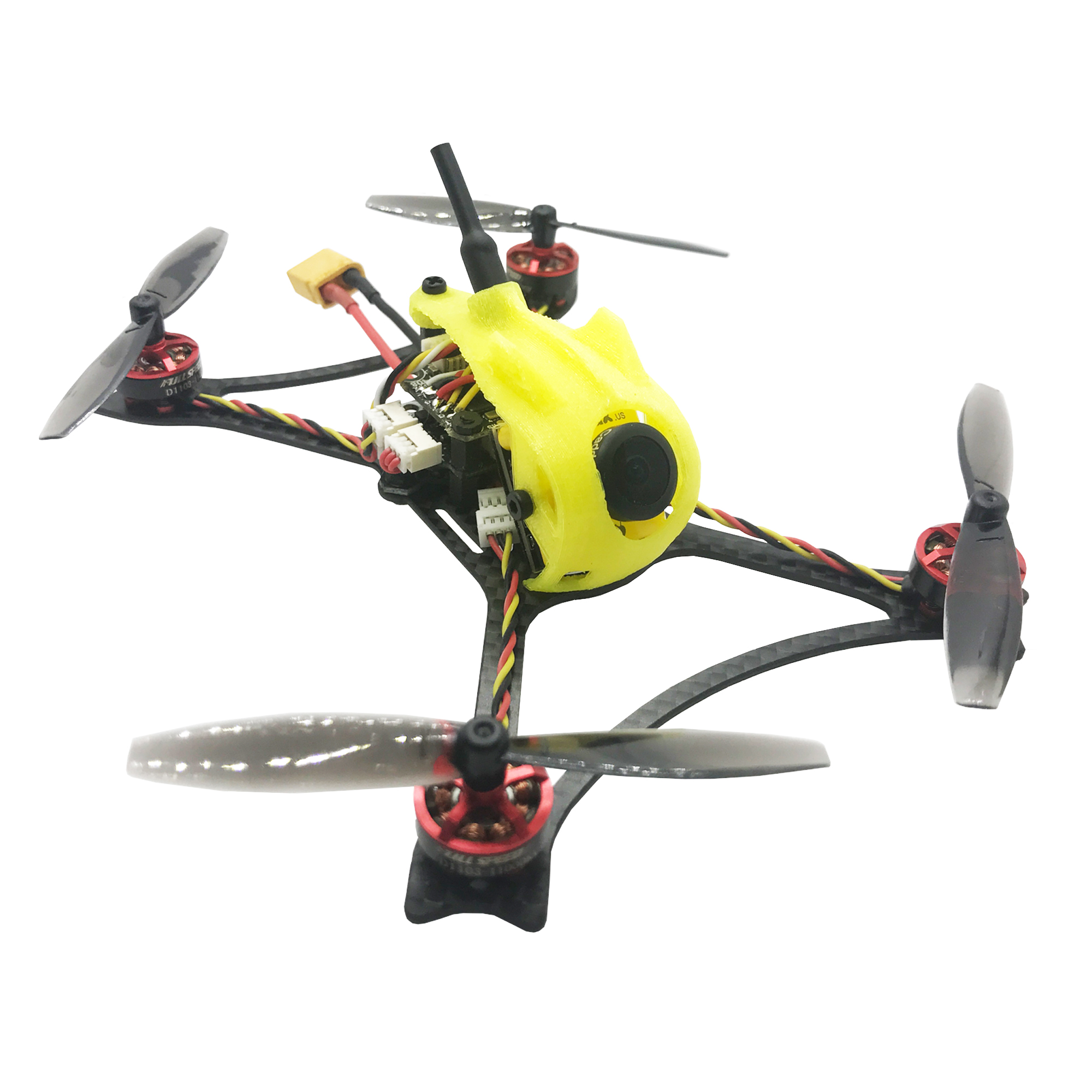 FullSpeed Toothpick FPV Racing Drone 2-3S 1103 65mm prop 25-600mw VTX