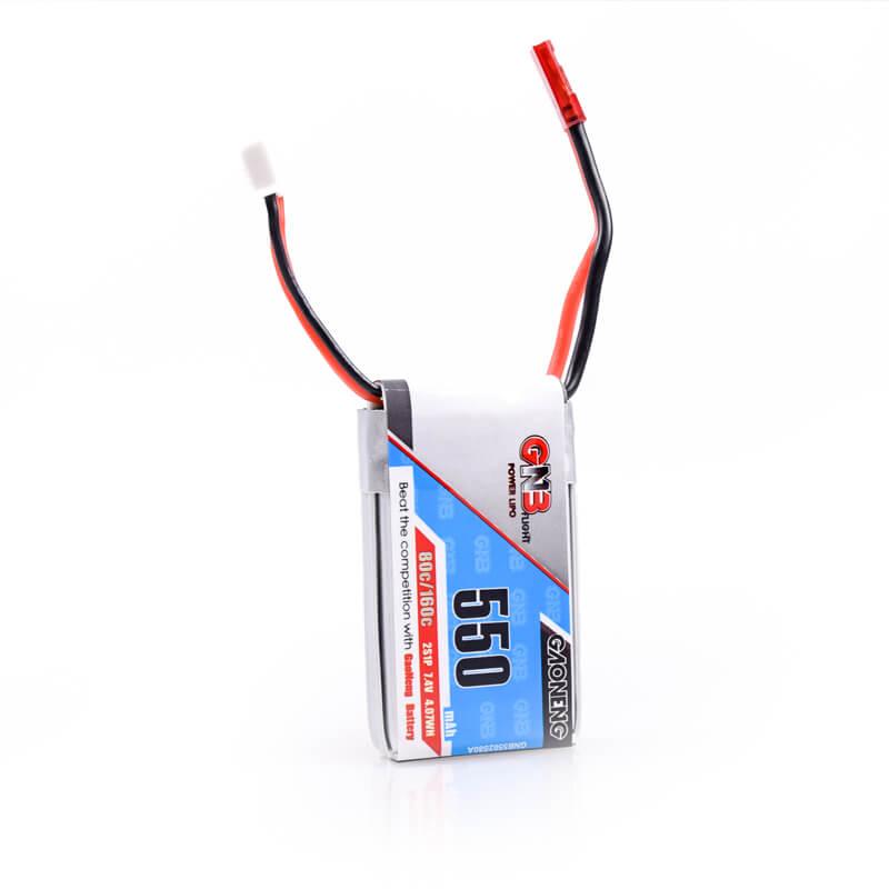 FSD 2S 550mah 2S 80C 7.4V Battery GNB